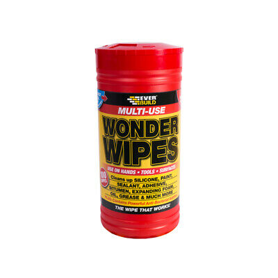 Everbuild Wonder Wipes Multi Purpose Hand Cleaners Ideal for Grease and Oil
