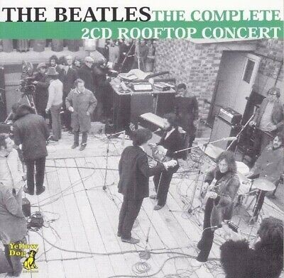 The Beatles The Complete Rooftop Concert Cd Yellow Dog Records Don't Let Me Down