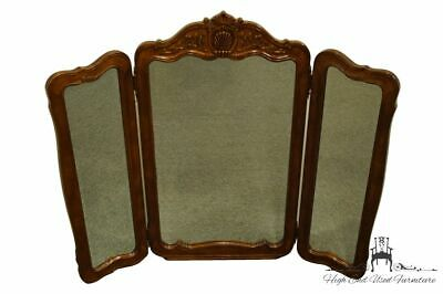 "BERNHARDT FURNITURE Louis XVI French Provincial 55x48"" Tri Fold Dresser Mirror"