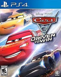 Cars 3: Driven to Win PS4, Brand New, Sealed