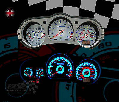 Fits: Nissan 350z 3.5  GT speedo dash interior panel custom bulb light bulb kit