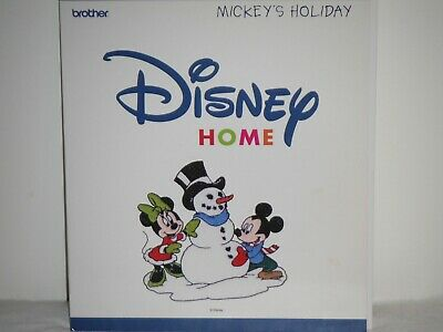 Brother Disney Embroidery Card - Mickey's Holiday