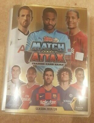 Topps Match Attax 2019/20 100% Complete inc. ALL Limited Edition / Extras *RARE*