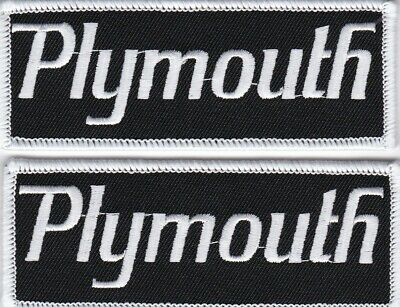 Plymouth Sew/Iron On Patch Badge Emblem Embroidered Car