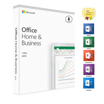 *Lotto Stock* 2 X Office 2019 Home Business Per Mac Version - Lifetime Vl