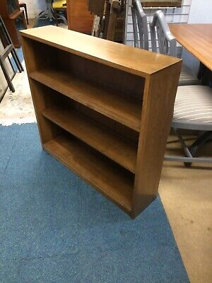 Solid Oak Bookcase Book Shelves Display