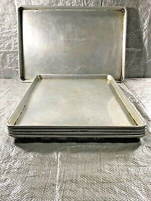Full Size Sheet Pans Lot of 5 Industrial Baking Sheets