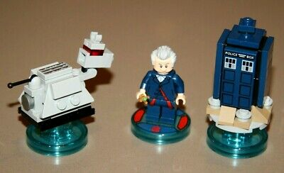 Lego Dimensions Doctor Who Dr Who Level Pack 71204 Retired Rare!!
