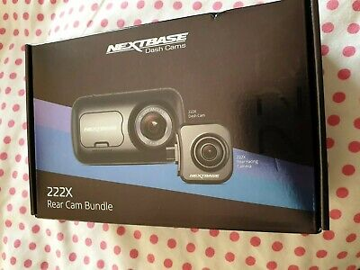 NEXTBASE 222X Front and Rear Camera Bundle Brand New sealed