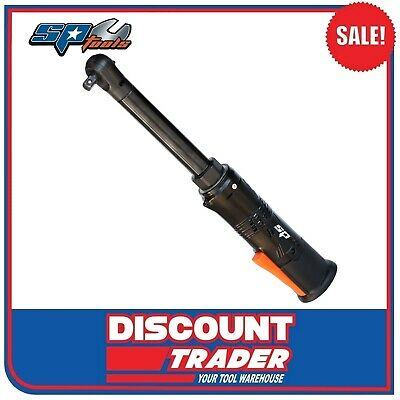 "SP Tools 12V 3/8"" Drive Mini Ratchet Wrench - Long Neck - Skin Only - SP81616BU"