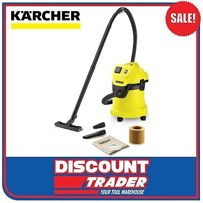 Karcher WD 3 P Premium Multi Purpose Wet & Dry Vacuum Cleaner 1.629-892.0