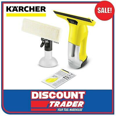 Karcher WV 6 Plus 3.7V Cordless Window Vacuum Cleaner Set 1.633-511.0