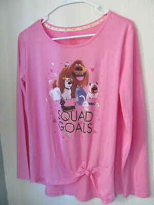 The secret life of pets girls top squad goals size XL