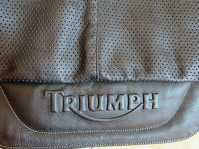 Triumph Motorcycles Leathers, perforated, 2 piece