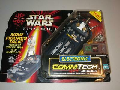 Star Wars Episode 1 -Electronic Comm Tech Reader- Hasbro -1998 NEW