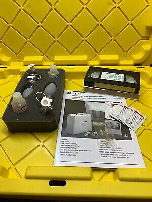 3M FT-30 Qualitative Fit Test Apparatus (Bitter), Partial Kit + Video, Used