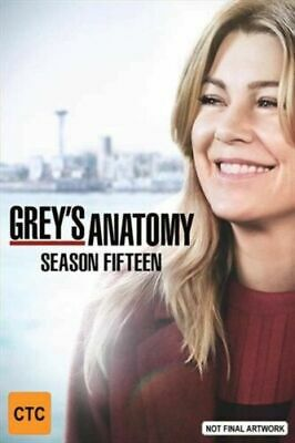 Grey's Anatomy Season 15 DVD Complete 15th Brand New sealed