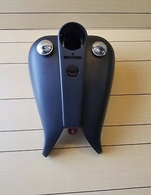 Road King 5 Gl Gas Tank Covers & Flat Console For 94-2007