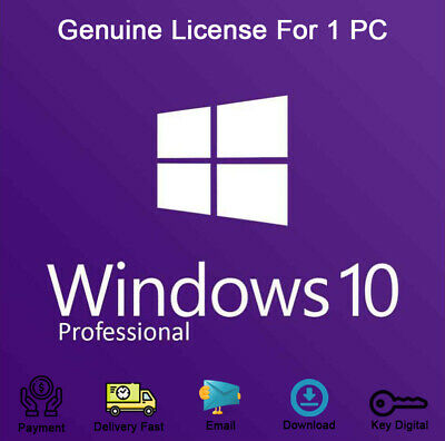 Windows 10 Pro 32-64bit Product Key Link Download Activation Genuine