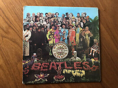 Beatles The Sgt. Pepper's Lonely Hearts Club Band Vinyl LP Album Record Mono 1st