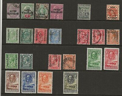 Bechuanaland  Mint & Used Collection  1891/1932 Between Sg 33 & Sg 105
