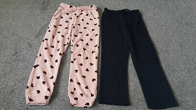2 x girls trousers size 7-8