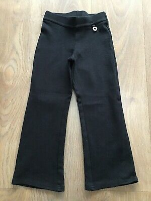 Next Girls Age 6 Years Black School Trousers Pull On G346