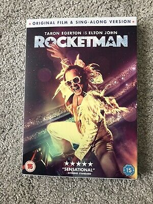 Rocketman Cert 15 DVD - Watched Once
