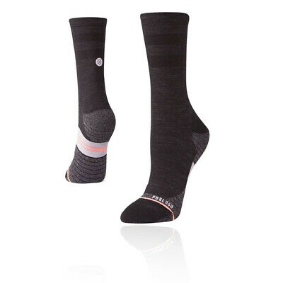 Stance Mujer Uncommon Solids Wool Crew Calcetines - Negro Deporte Exterior