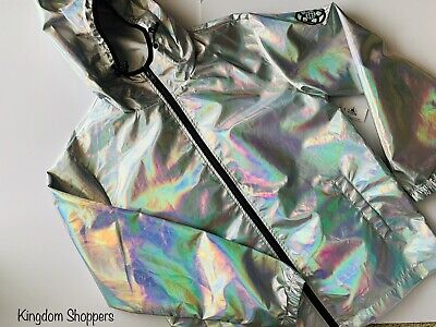 D23 2019 Disney Parks EPCOT Holographic Silver Jacket WDI Spaceship Earth L