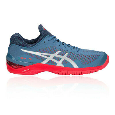 ASICS UOMO SOLUTION Speed FF Tennis Scarpe Nero Sport