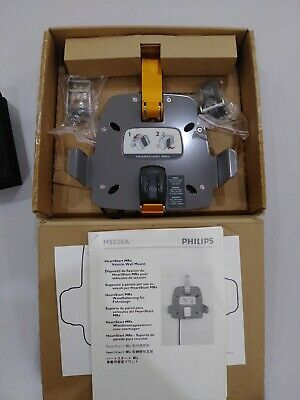 Philips Heartstart Mrx Vehicle Wall Mount & Charger, Oem Box, Unused, Heavy Duty