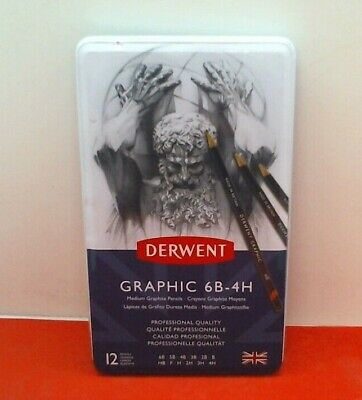 Derwent Graphic 6B-4H - 12
