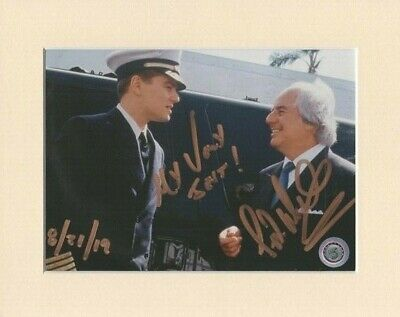 """Frank Abagnale Catch Me If You Can Original Signed 10x8"""" Mounted Autograph Photo"""