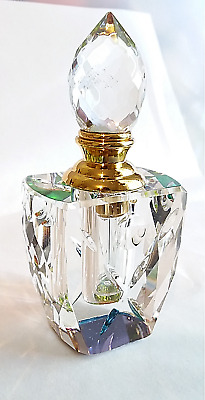 Empty Star Crystal Color Changing Refillable Perfume Decorative Bottle 3 ml