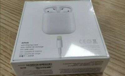Apple AirPods 2nd generation With Charging Case100% Genuine BRAND NEW SEALED!