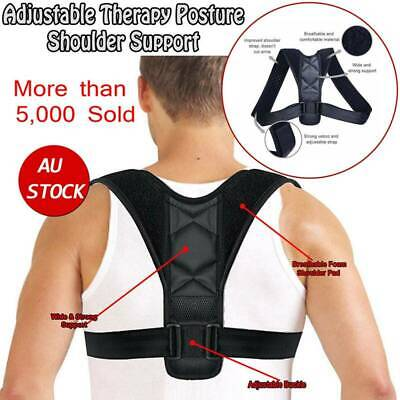 CFR Posture Corrector Back Support Straight Shoulder Brace Therapy Forward Head