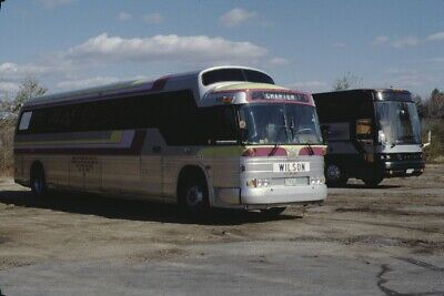 COBRA COACH LINES GM PD 4107 bus duplicate slide - $1 25