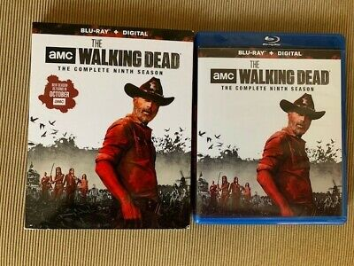 The Walking Dead Season 9(Blu-Ray + Digital, 2019)