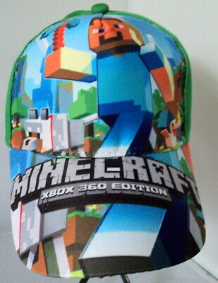 Minecraft Baseball Cap - Top Quality 100% cotton.