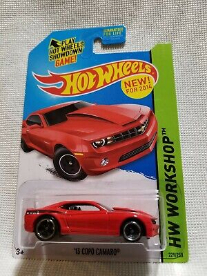 THEN and NOW /'14 COPO CAMARO HOT WHEELS 2014 HW WORKSHOP