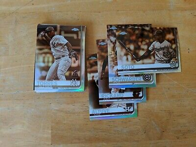 2019 Topps Chrome Sepia Refractor - You Pick - Baseball cards