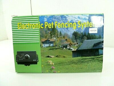 Wireless Dog Fence Kit Electric Fencing Boundary Pet Containment System 023