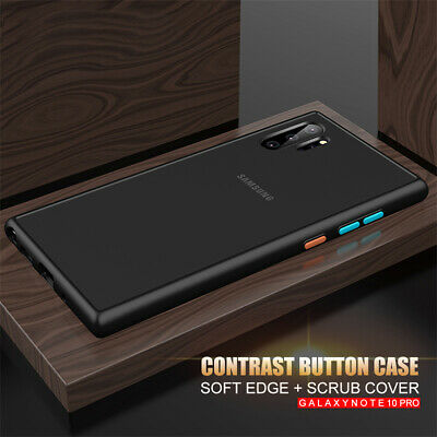 For Samsung A70 A60 A50 A40 A30 Shockproof Matte Translucent Silicone Case Cover