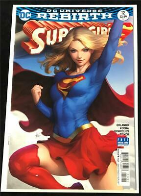 SOLD OUT! DC 2018 Supergirl #16 Stanley Lau variant cover B!1st PRINT