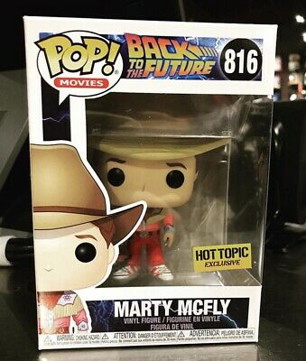 Funko Pop! Back To The Future Marty McFly (Cowboy) Hot Topic Exclusive IN STOCK