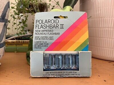 Polaroid SX-70 Land Camera Flash Bars