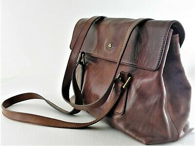 The Bridge   Damen Business-Bag  Leder  Mittelbraun  Handtasche Tasche Neuwertig