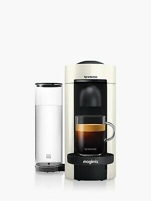 Nespresso Vertuo Plus Capsule Coffee Machine by Magimix, 1260W, White B+