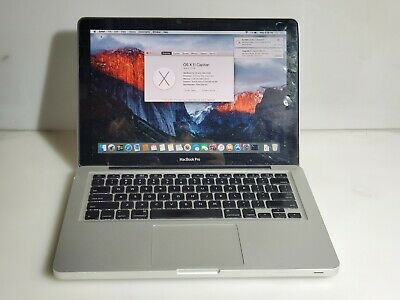 """Apple MacBook Pro A1278 Mid 2009 Core 2 Duo P8700 2.53 GHz 4 GB 320 GB HDD 13.3"""""""
